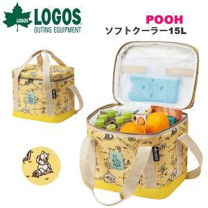 ロゴス LOGOS POOH ソフトクーラー 15L 保冷バッグ 折りたたみ ソフトクーラーボックス アウトドア ピクニック 86003699|elephant