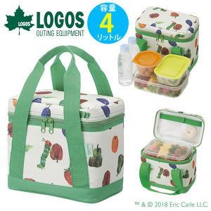 ロゴス LOGOS はらぺこあおむし ランチバッグ ソフトクーラー 4L おしゃれ お弁当 保冷バッグ|elephant