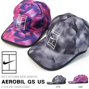 テニスキャップ ナイキ NIKE ナイキコート エアロビル GS US キャップ メンズ レディース 帽子 CAP 熱中症対策 2017秋新作 10%off elephant