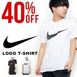 40%off 半袖 Tシャツ ナイキ NIKE メンズ スウッシュ ハングタグ Tシャツ 半袖Tシャツ ビッグロゴ プリント スポーツ カジュアル スポカジ