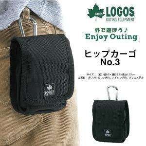 ロゴス LOGOS ヒップカーゴNo.3 ポーチ メンズ レディース カラビナ付き 小物入れ ケース アウトドア|elephant