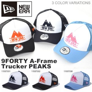 NEW ERA ニューエラ 9FORTY A-Frame Trucker トラッカー ピークス ベースボール CAP ツインピークス 山頂 帽子 2018夏新作 elephant
