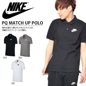 NIKE PQ MATCH UP POLO ナイキ PQ マッチアップ ポロ 紳士・男性用  時代を...
