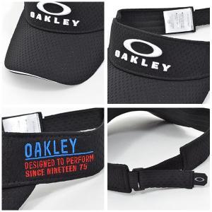 ゴルフ サンバイザー OAKLEY オークリー メンズ BG FIXED VISOR 13.0 ロゴ キャップ  帽子 GOLF ゴルフウェア コンペ 景品 日本正規品 2019春夏新作 得割25 elephant 04