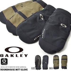 タッチパネル対応 スノーグローブ OAKLEY オークリー メンズ GLOVE スマホ対応 ミトン 手袋 スノーボード スキー 防寒 18-19 18/19 2018-2019冬新作 送料無料|elephant