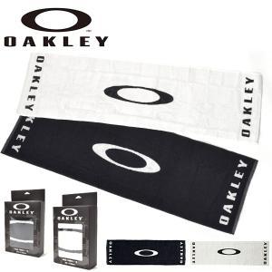 スポーツタオル OAKLEY オークリー メンズ ICON TOWEL 110 ロゴタオル 34cm...
