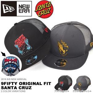 NEW ERA ニューエラ 9FIFTY Original Fit Santa Cruz サンタクルーズ ベースボール キャップ メンズ レディース 帽子 2018春夏新作 10%off|elephant