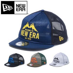 NEW ERA ニューエラ 9FORTY Trucker トラッカー マウンテン キャンプ アウトドア キャップ CAP 帽子 2019春夏新作|elephant