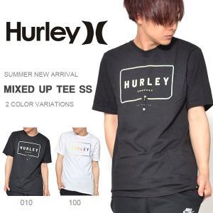 半袖Tシャツ HURLEY ハーレー メンズ MIXED UP TEE SS Tシャツ 半袖 トップス サーフ 2018夏新作 10%off|elephant