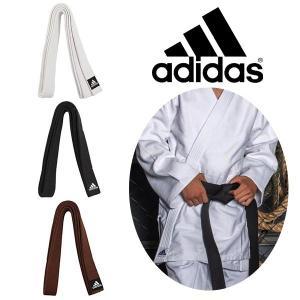 柔道 帯 トレーニング用 白帯 黒帯 茶帯 エリート アディダス adidas 幅45mm 練習用 ADIB240JPE|elephant