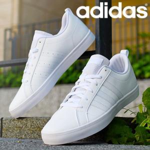スニーカー アディダス adidas ADIPACE VS メンズ アディペース ローカット 3本ライン カジュアル シューズ 靴 2019秋新色 ブラック ホワイト|elephant