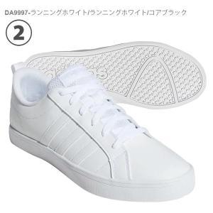 スニーカー アディダス adidas ADIPACE VS メンズ アディペース ローカット 3本ライン カジュアル シューズ 靴 2019春新色 ブラック ホワイト|elephant|03