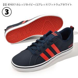 スニーカー アディダス adidas ADIPACE VS メンズ アディペース ローカット 3本ライン カジュアル シューズ 靴 2019春新色 ブラック ホワイト|elephant|04