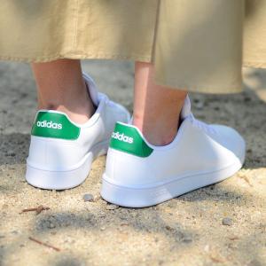 28%off スニーカー アディダス adidas レディース ADVANCOURT K アドバンコート ローカット シューズ 靴 ホワイト ブラック 2021春新色|エレファントSPORTS PayPayモール店