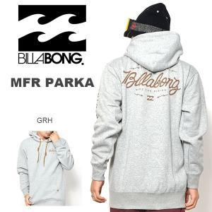 長袖 フーディー BILLABONG ビラボン メンズ MFR PARKA プルオーバー パーカー スノーボード スノボ 2016-2017冬新作 16-17 25%off
