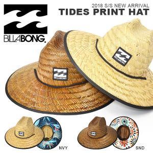 麦わら帽 ビラボン BILLABONG メンズ レディース ストローハット HAT 帽子 サーフ 2018春夏新作 ai011-929 ビーチ プール 海水浴 サーフ 紫外線対策 15%off|elephant