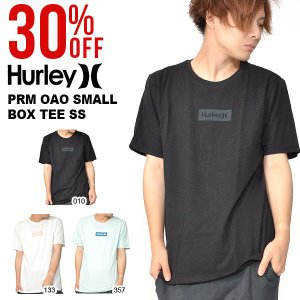 半袖Tシャツ HURLEY ハーレー メンズ PRM OAO SMALL BOX TEE SS Tシャツ 半袖 トップス サーフ 2018秋冬新作|elephant