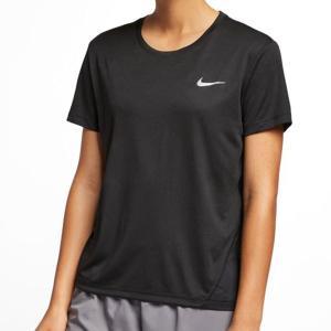半袖 Tシャツ ナイキ NIKE レディース ナイキ ウィメンズ マイラー S/S トップ ワンポイント ランニングシャツ ジョギング 2019春新作  20%OFF AJ8122