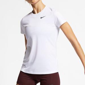 半袖 Tシャツ ナイキ NIKE レディース ウィメンズ DRI-FIT レッグ クルー Tシャツ ワンポイント ランニング トレーニング 2019夏新色 20%OFF AQ3211|elephant