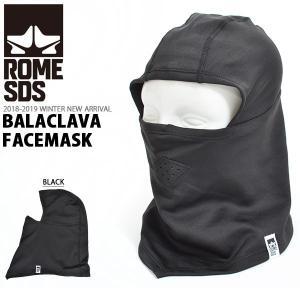 フェイスマスク ROME SDS ローム バラクラバ BALACLAVA ARCTIC FACEMASK スノボ スノーボード スキー 2018-2019冬新作 18-19 得割20|elephant