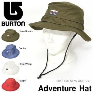 ハット バートン BURTON Adventure Hat メンズ アドベンチャー ハット サファリ 撥水 帽子 アウトドア キャンプ 野外フェス2018春夏新作 30%off|elephant