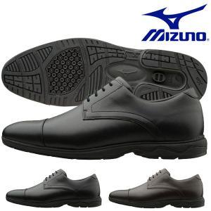 ビジネスウォーキングシューズ ミズノ MIZUNO メンズ LD40 ST2 幅広 3E ビジネスシューズ 靴 通勤 シューズ 得割20 送料無料|elephant