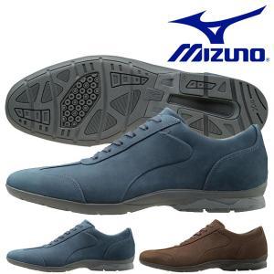 ビジネスウォーキングシューズ ミズノ MIZUNO メンズ LD40 CROSS 幅広 3E ビジネスシューズ 靴 通勤 シューズ 得割20 送料無料|elephant