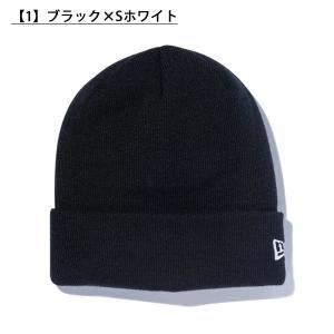 ネコポス対応可能!ニット帽 ニューエラ BASIC CUFF KNIT ビーニー メンズ レディース ロゴ 帽子 ベーシック 得割21 スノボ スノーボード elephant 02