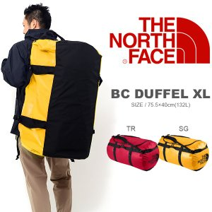 現品限り 30%off 大容量 132リットル ザ・ノースフェイス THE NORTH FACE BC DUFFEL XL ベースキャンプ ダッフル ボストンバッグ ショルダーバッグ 旅行|elephant