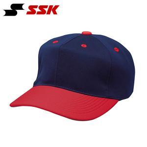 SSK エスエスケイ 角ツバ6方型ベースボールキャップ 無地 帽子 野球 スポーツ BC062 得割21|elephant