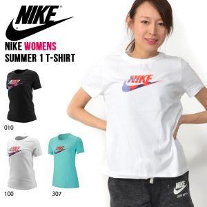 半袖 Tシャツ ナイキ NIKE レディース サマー 1 TEE シャツ ロゴ ビッグロゴ プリント トレーニング スポーツウェア BQ3709 2019夏新作|elephant