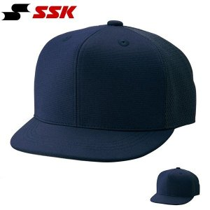 SSK エスエスケイ 審判帽子 六方半メッシュタイプ 主審・塁審兼用 キャップ 帽子 無地 野球 ベースボール BSC45 得割21|elephant