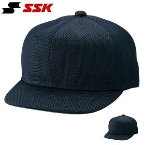SSK エスエスケイ 審判帽子 六方オールメッシュタイプ 主審・塁審兼用 キャップ 帽子 無地 野球 ベースボール BSC46 得割21|elephant