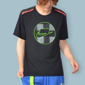 半袖 Tシャツ ナイキ NIKE メンズ DRI-FIT S/S メッシュ トップ ブロックロゴ スポーツパック ランニングシャツ スポーツウェア BV5548 2019秋新作 送料無料|elephant