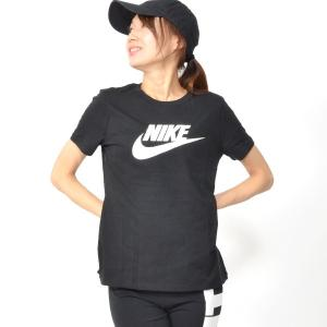 半袖 Tシャツ ナイキ NIKE レディース ウィメンズ エッセンシャル アイコン フューチュラ L/S Tシャツ ビッグロゴ スポーツウェア 2019夏新色 20%OFF BV6170|elephant