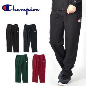 チャンピオン Champion メンズ LONG PANTS ロングパンツ スポーツウェア トレーニング ウェア ランニング ジョギング ジム 得割20 C3-NSD23|elephant