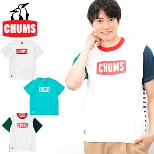 半袖Tシャツ CHUMS チャムス メンズ CHUMS Logo T-Shirt ロゴTシャツ アウトドア 2018夏新作|elephant