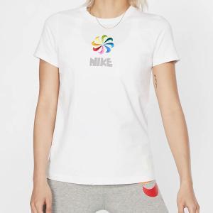 半袖 Tシャツ ナイキ NIKE レディース PINWHEEL TEE シャツ 風車 ロゴ プリント トレーニング スポーツウェア CI1124 2019夏新作|elephant
