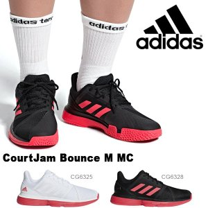 得割30 現品のみ テニスシューズ アディダス adidas メンズ CourtJam Bounce M MC コートジャムバウンス マルチコート オールコート用 靴 2019春新作 送料無料|elephant