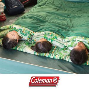 コールマン Coleman 封筒型 シュラフ 寝袋 ファミリー 2in1/C10 夏用 スリーピング...
