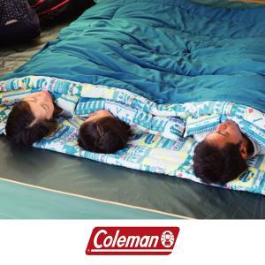 コールマン Coleman 封筒型 シュラフ 寝袋 ファミリー 2in1/C5 スリーピングバッグ ...