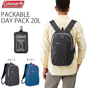 Coleman 20Lの軽量バックパックで