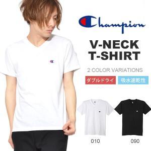チャンピオン(Champion) VネックTシャツ になります。  メンズ・男性・紳士 通気性に優れ...