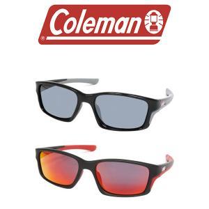 サングラス 偏光レンズ Coleman コールマン メンズ ミラー UVカット 紫外線対策 眼鏡 アウトドア スポーツ 釣り CO3071 得割20の画像