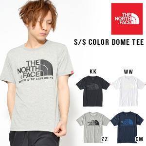 半袖Tシャツ ザ・ノースフェイス THE NORTH FACE メンズ S/S Color Dome Tee ロゴ ショートスリーブ カラー ドーム ティー 2018春夏新色 NT31620|elephant