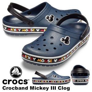 サンダル クロックス CROCS クロックバンド ミッキー 3.0 クロッグ レディース シューズ ...