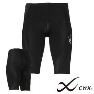 CW-X ジェネレーター ハーフタイツ メンズ コンプレッションインナー スポーツ ランニング ウェア スパッツ HZO635 Wacoal ワコール 得割10|elephant
