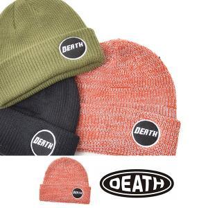 ゆうパケット対応可能! DEATH LABEL デスレーベル ビーニー スノーボード BEANIE 帽子 ニットキャップ ニット帽 CAP 30%off elephant
