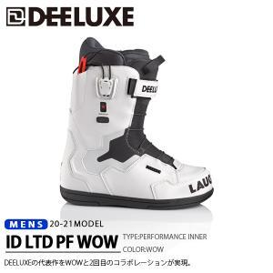 ディーラックス DEELUXE スノーボード ブーツ ID 7.1 PF WOW メンズ アイディー スノボ PF ノーマルインナー 2018-2019冬新作 20%off