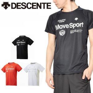 デサント(DESCENTE) クールトランスファー ハーフスリーブシャツ になります。  メンズ・男...